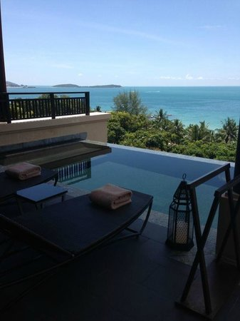 Vana Belle, A Luxury Collection Resort, Koh Samui : Our own pool