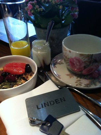 The Arden Hotel: Beautiful breakfast