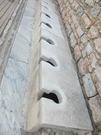 Public latrine - Picture of Public Latrine, Selcuk ...