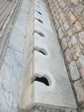 Public latrine