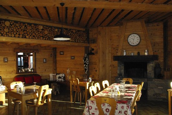 Le Belvedere: La salle de restaurant