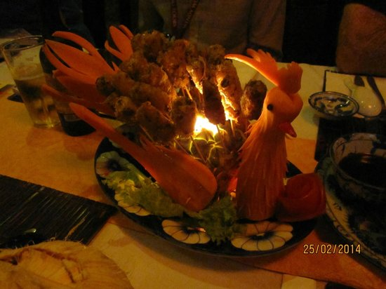 Y Thao Garden : One of our dishes
