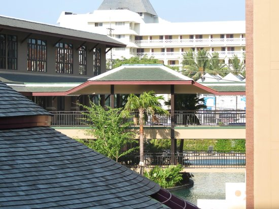 Novotel Phuket Vintage Park : a view of the hotel from our room
