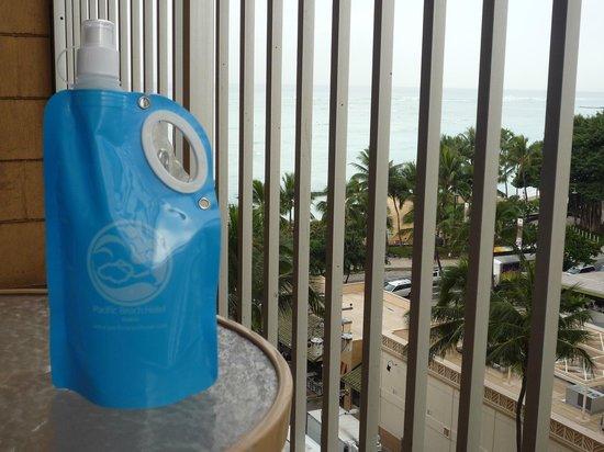 Alohilani Resort Waikiki Beach : ラナイ