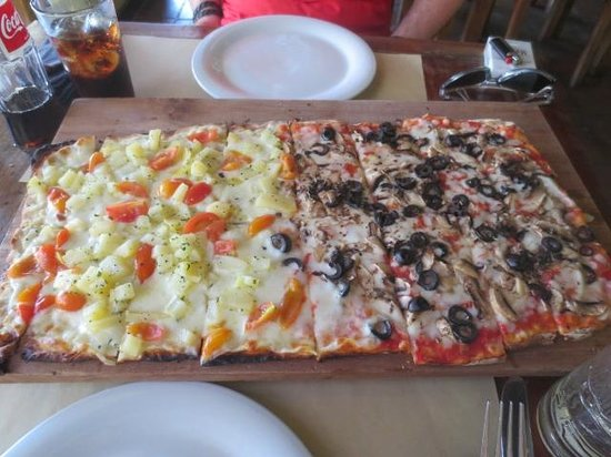 Trattoria Seminyak: Delicious pizza