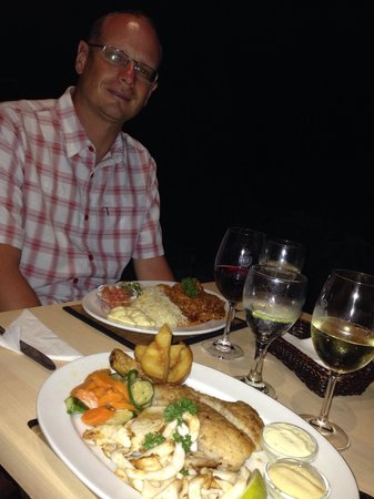 Salinas Beach Restaurant: Lecker Fisch