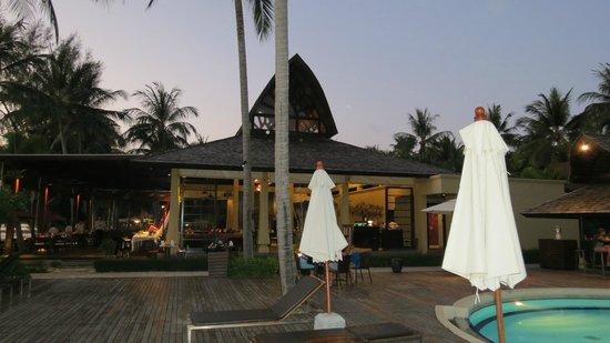 Mövenpick Resort Laem Yai Beach Samui: @ The Terrace