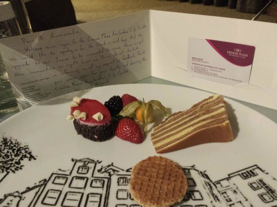 Crowne Plaza Amsterdam City Centre: Customer Care at its best