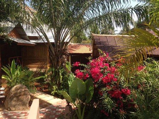Baan Sukreep - Zen Garden Cottages : Magnifique jardin