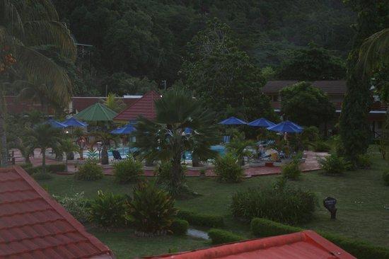 Berjaya Praslin Resort - Seychelles : vue de la chambre