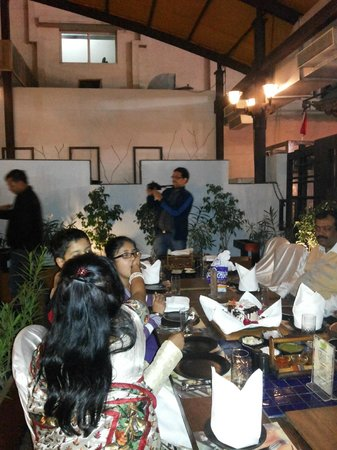 Sanchi: Wedding Anniversary party at Sayaji