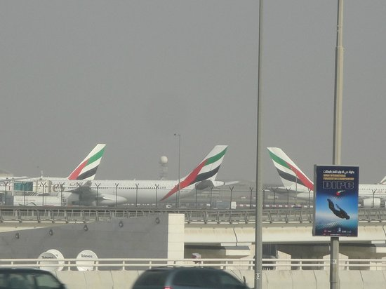 Premier Inn Dubai International Airport Hotel: view from my room