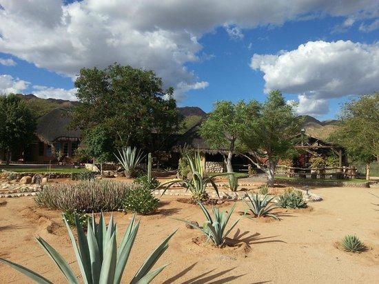 Solitaire Desert Farm: De lodge en omgeving