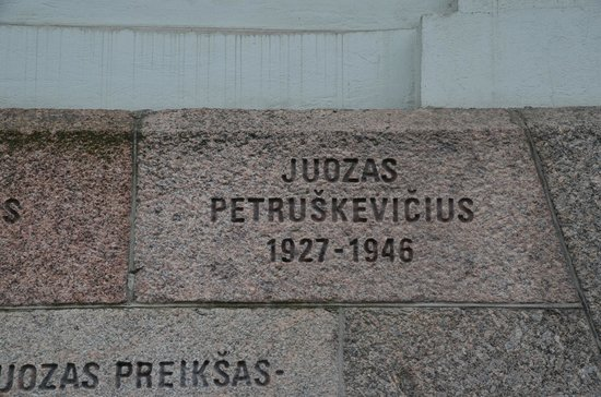 KGB Museum (Genocido Auku Muziejus) : Young Man who Died for His Country