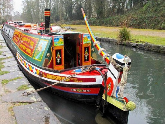 Cromford Canal: Trips are available on this traditional canal boat