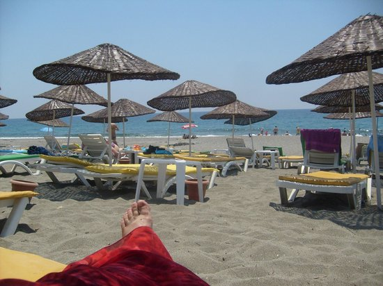 Klas Hotel Dom: Пляж