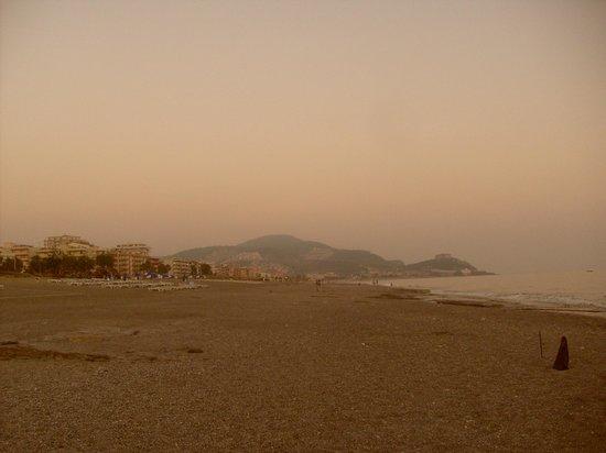 Klas Hotel Dom: Вечерний пляж