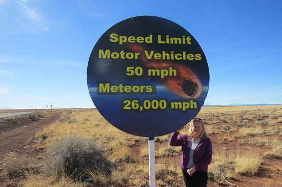 Meteor Crater: I'd like to see a Smokey Radar that Sucker !