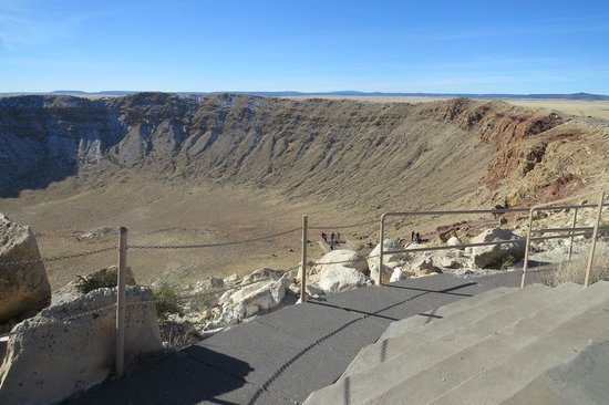 Meteor Crater: Over 550 feet Deep & a Mile Across