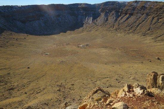 Meteor Crater: That's Deep Man !!