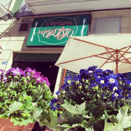 La Taverna dell'Artista: terraza de La Taverna dell' Artista