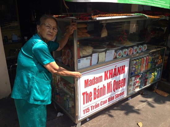 Madam Khanh - The Banh Mi Queen : The Queen herself