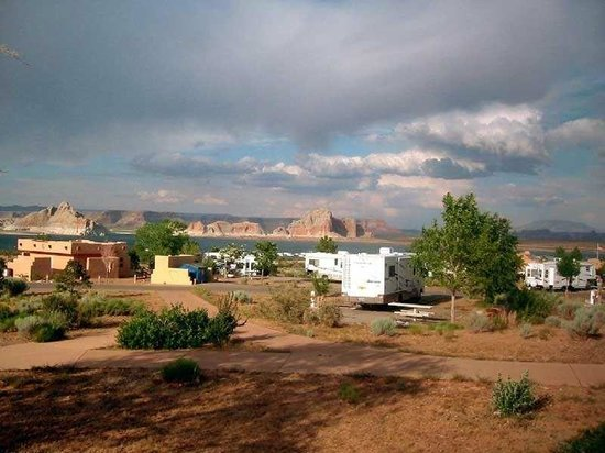 Wahweap Campground : Les emplacements
