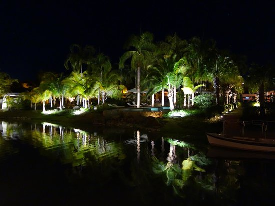 JW Marriott Panama Golf & Beach Resort: Vue de la terrasse du restaurant