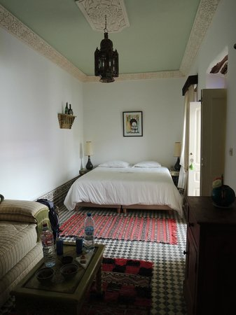 Riad Dar Emotion : Our room on the top floor