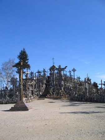 Colina de las Cruces: Crosses