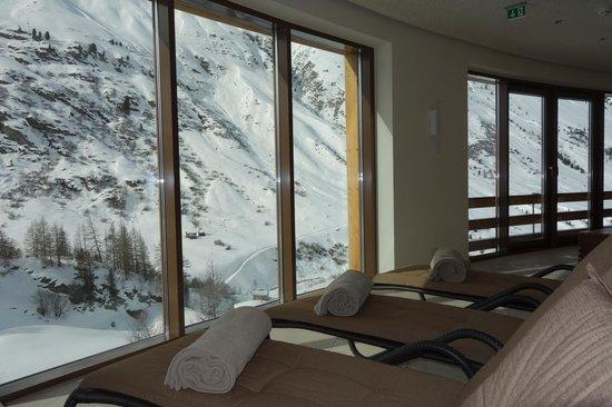 Hotel Bergwelt: Classis panorama sauna