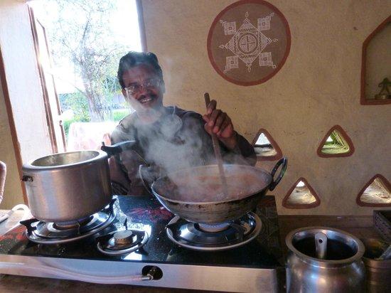 Apani Dhani Eco-Lodge : curso de cocina