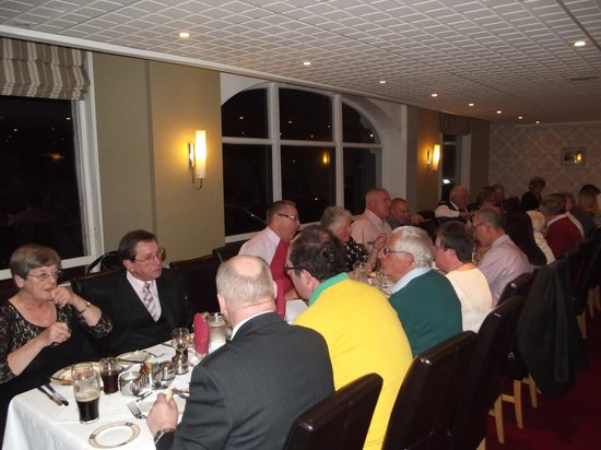 Cliffdene Hotel: Our re-union meal 2014
