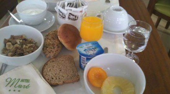 Hotel Mare : バイキングの朝食