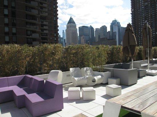 YOTEL New York at Times Square West : La terrasse
