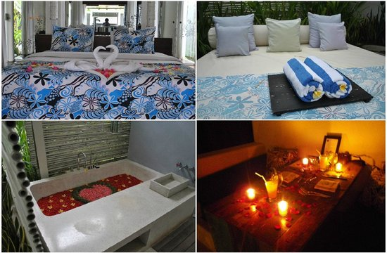 Kiss Bali: Honeymoon decorations