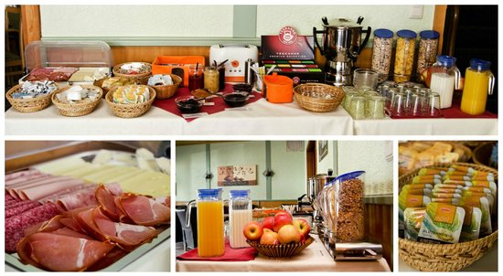 Mittelrhein Pension: Frühstücksbuffet