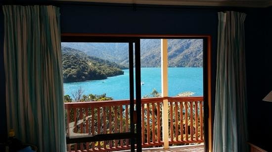 Punga Cove Resort: view from room 10