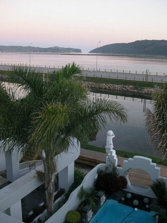 On The Estuary Guesthouse: The view from the terrace