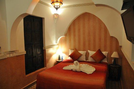 Riad Itrane : vue de la chambre