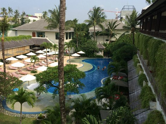 The Breezes Bali Resort & Spa : pool vie form our room