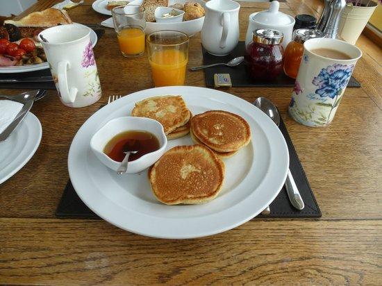 Seaside B & B: Fresh Pancakes