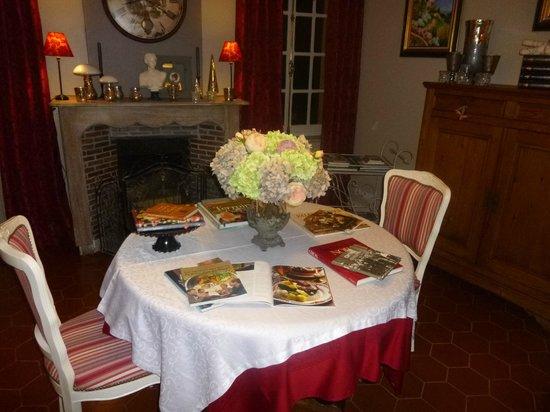 Le Domaine de La Frenaie : la salle a manger