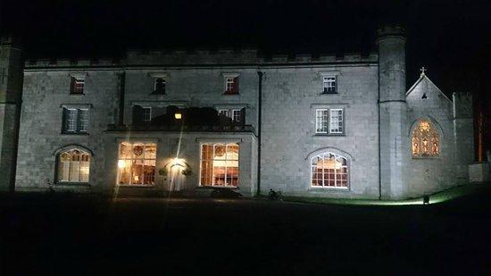 Thurnham hall at night