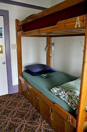 Green Tortoise Hostel - San Francisco : La chambre