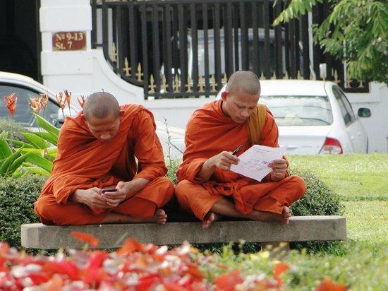 Khuon Tour Private Day Tours: des bonzes dans la ville à Phnom Penh