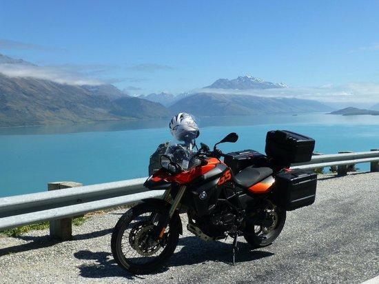 Paradise Motorcycle Day Tours: Vy över Lake Wakatipu