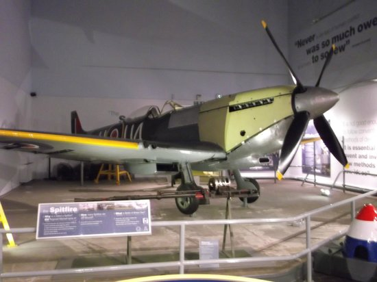 The Potteries Museum and Art Gallery: Spitfire Display