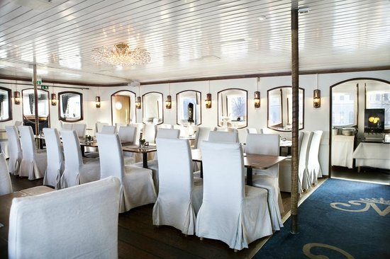 Malardrottningen Yacht Hotel and Restaurant : Restaurant