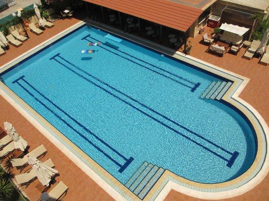 Hotel Kissamos : Vue du balcon